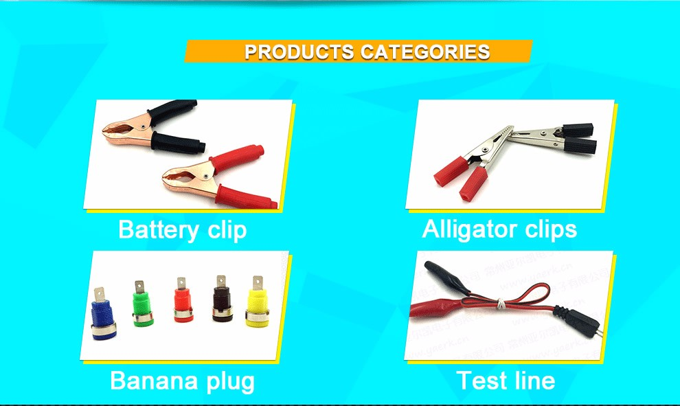 Changzhou Yaerkai Electronics Co., Ltd. - Alligator Clip,Battery Clip
