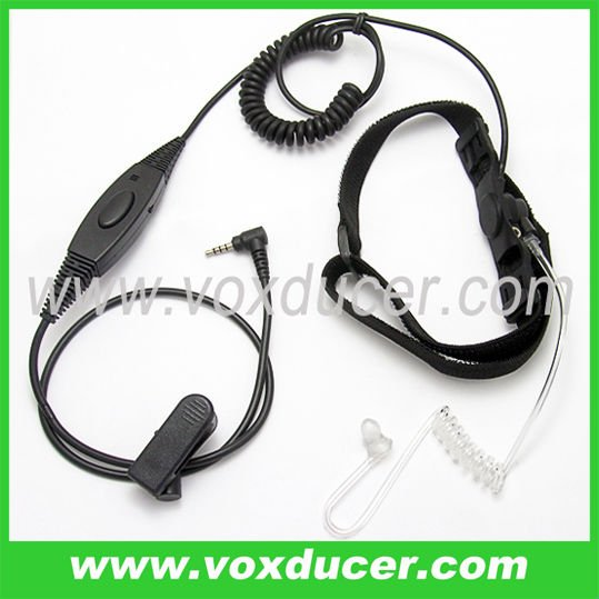 For Yaesu Vertex cb radios VX-110 VX-150 VX-180 noise -cancelling throat vibration earpiece