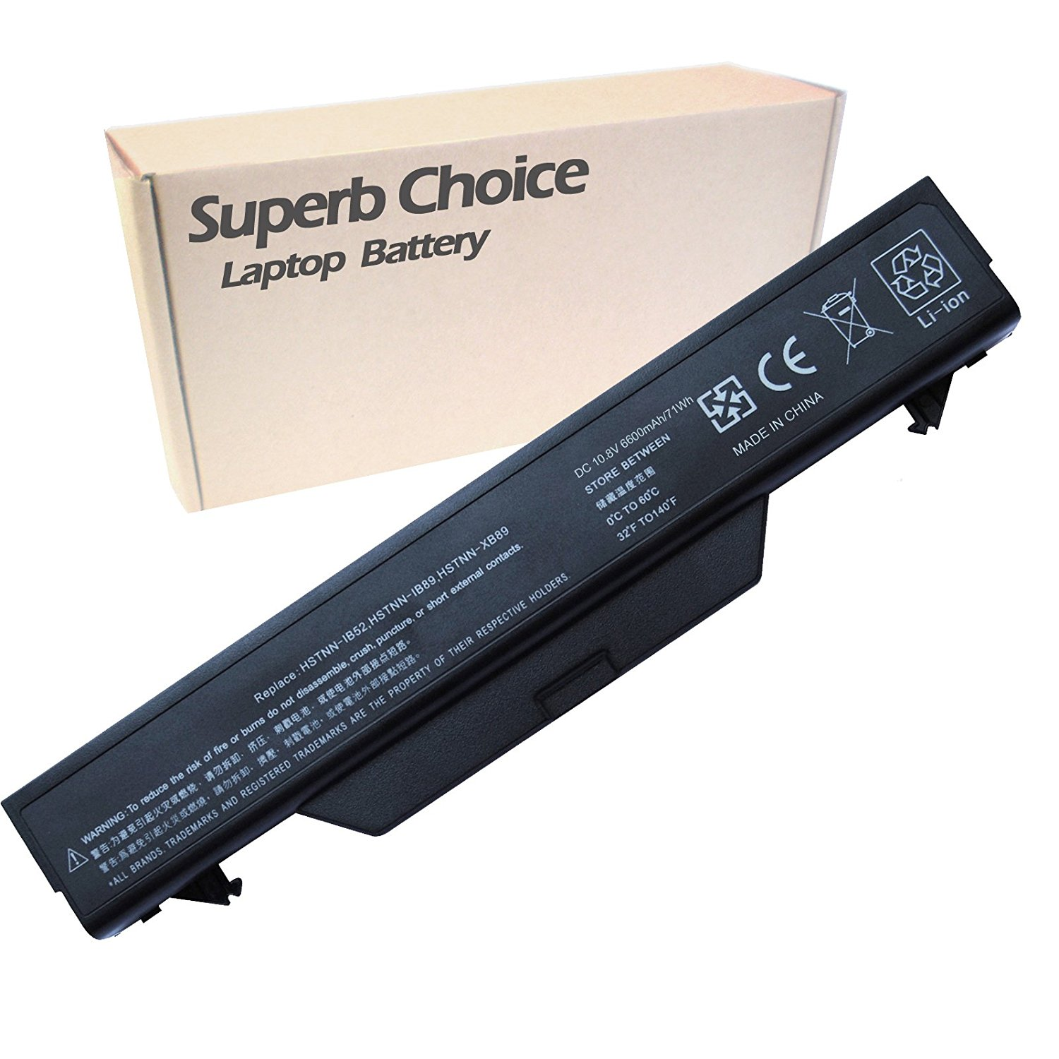 HP HSTNN-IB88 Laptop Battery - Premium Superb Choice® 9-cell Li-ion Battery
