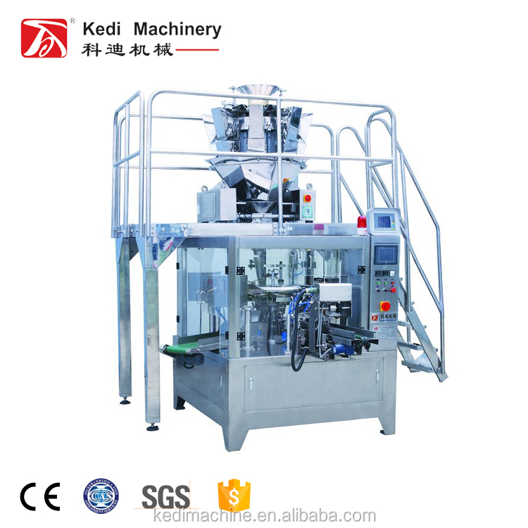 Certificación CE KEDI Machinery Food Pouch Packing Machine