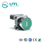 UTL Small Size Self-Locking Type 100Mm Illuminated Push-Button Switch