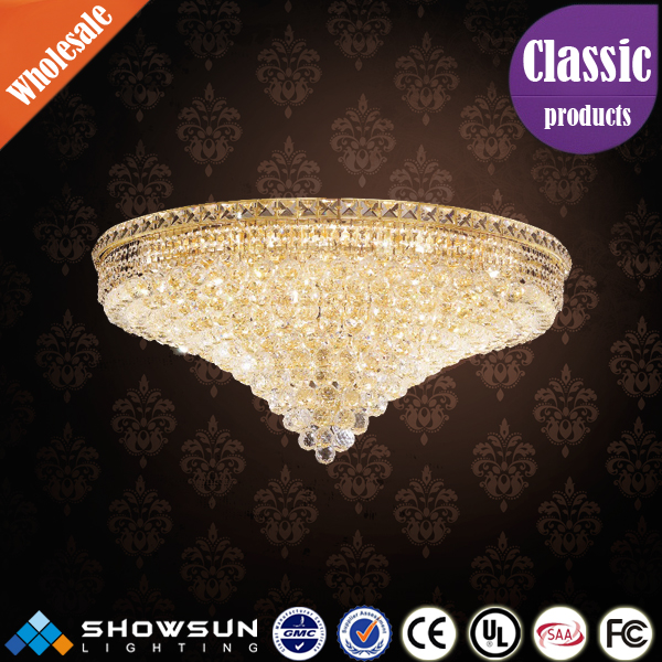 Hot selling Italian design crystal ceiling light fixture