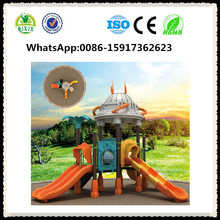 Innovative school playground design kids play slides kids play equipments QX-18037B
