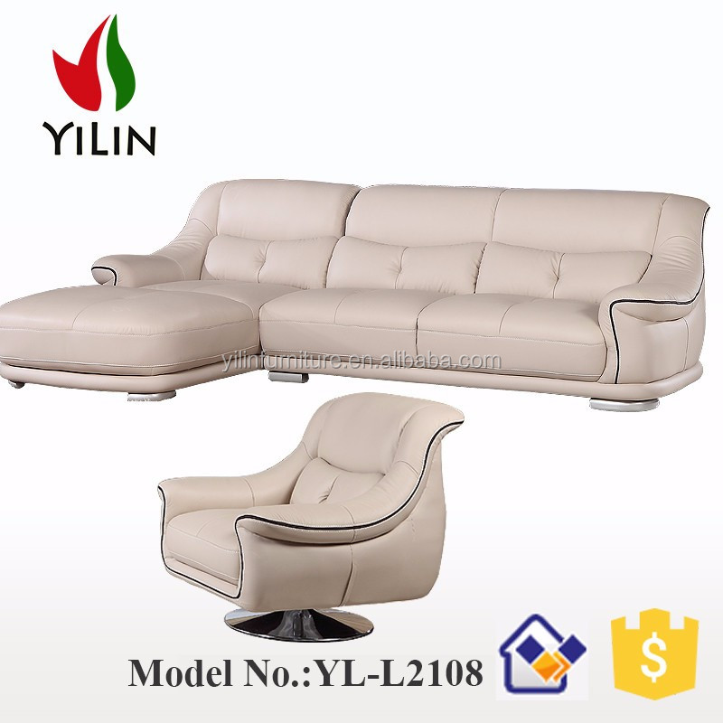Dubai Corner sofa Modern style seating room chesterfield sofa furniture