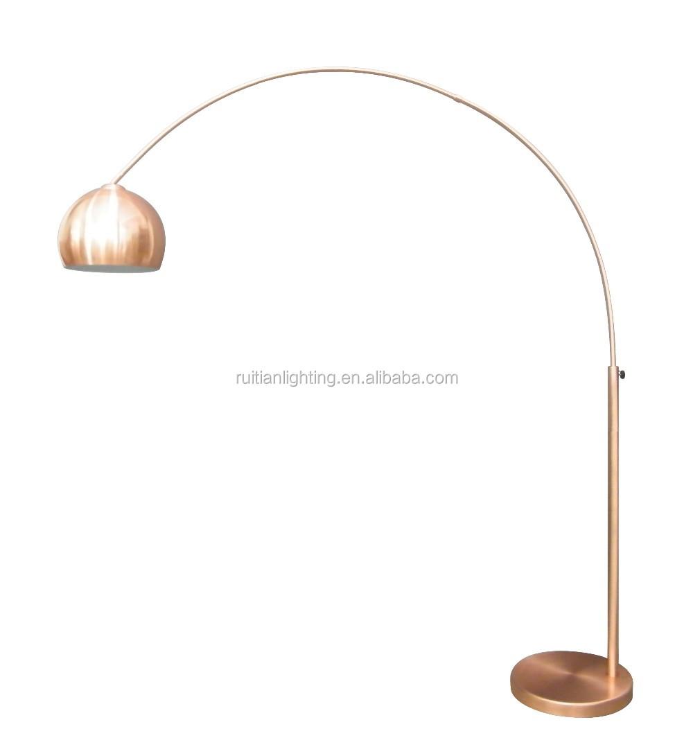 Spiksplinternieuw Koper Kleur Boog Lamp Vissen Metalen Vloerlamp Met Metalen CL-24