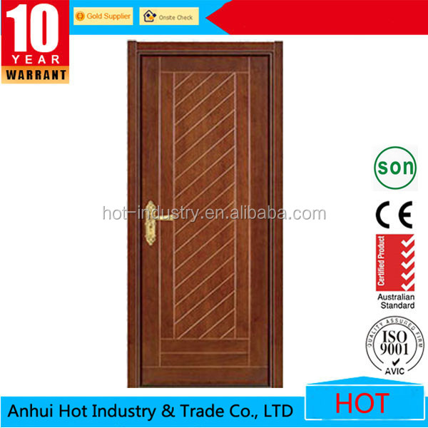 Price of Latest Design Interior Steel Wooden Doors Design China Products Steel Security Door with Hinge and Door Frame