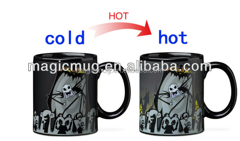 Nightmare Before Christmas Heat Changing Mug - Buy Nightmare ...