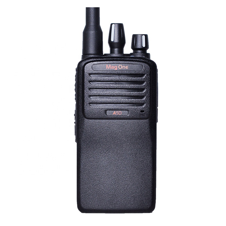Beste Verkauf Motorola VHF/UHF Handheld Two Way Radio Walkie Talkie A5D