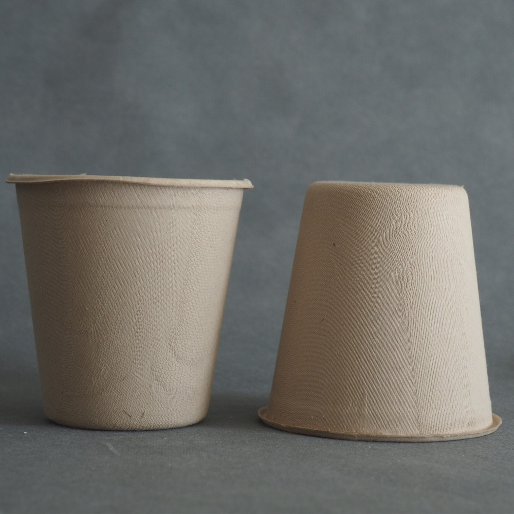 bio-degradable Eco-Friendly disposable wheat straw paper cup