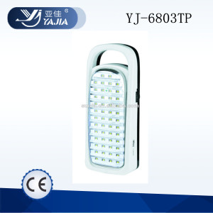 Wholesale Yuyao Yajia 220v rechargeable emergency led lamp
