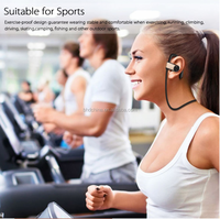 High-end wireless Sport Bluetooth Earphone mp3 Player stereo Headsets Devices Portable Bluetooth phone earphone