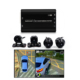 4 car camera system 360 Seamless Surround 3D 1080p camera with Digital Video Recorder