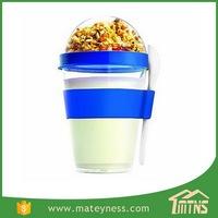 Plastic Yogurt Container