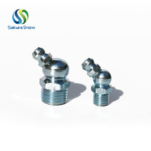 "Customized standard 1/4"" npt metal grease nipple fitting"