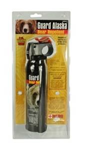 """Style PP20 - (9 oz) """"Guard Alaska"""" Bear Spray with Holster"""