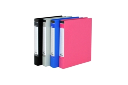 Ring Binder with PP film cover outside and paper inside