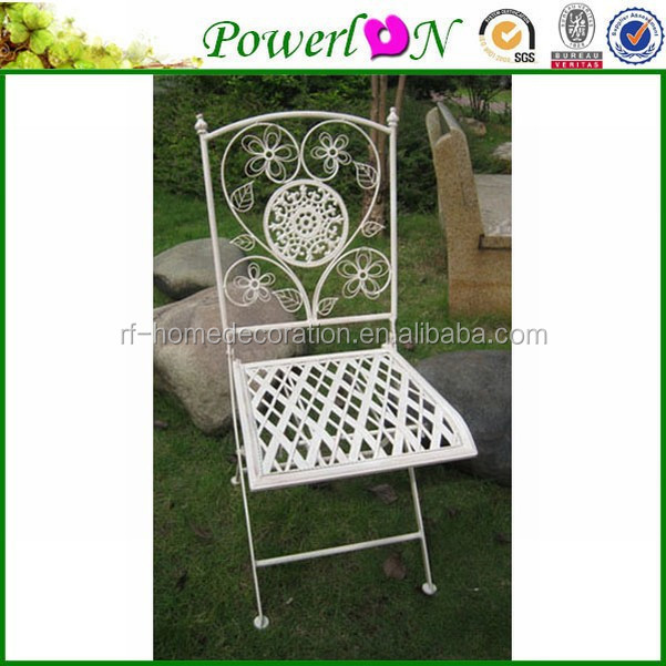 Competive Price Unique New Metal Fashion Folding Chair For Patio Park Outdoor