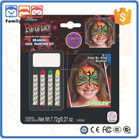 manufactory oil base make up brands cosmetics Halloween Dragon face painting