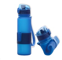 Food grade silicone BPA free water bottle 350ml