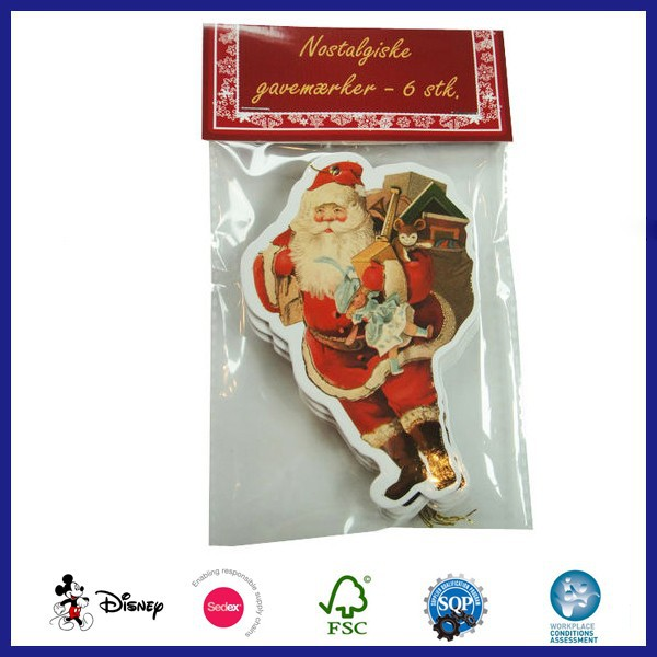 Christmas Decoration cardboard Gift Tags