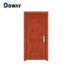 Latest Polish Design Stylish Room Interior Solid Bedroom Wooden Panel Door Picture