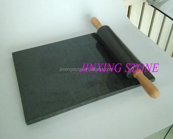 Graniet snijplank met marmer rolling pin set voor keuken gebruik