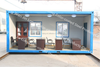 20ft/40ft container house /Foldable container homes flat pack container house price in south africa