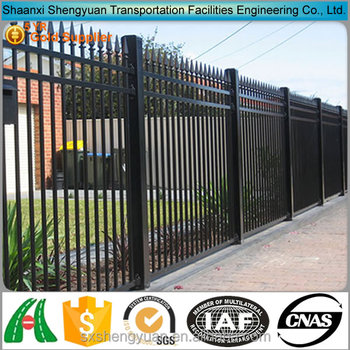 High Security Black Wrought Iron Garden Wall Fence Mesh