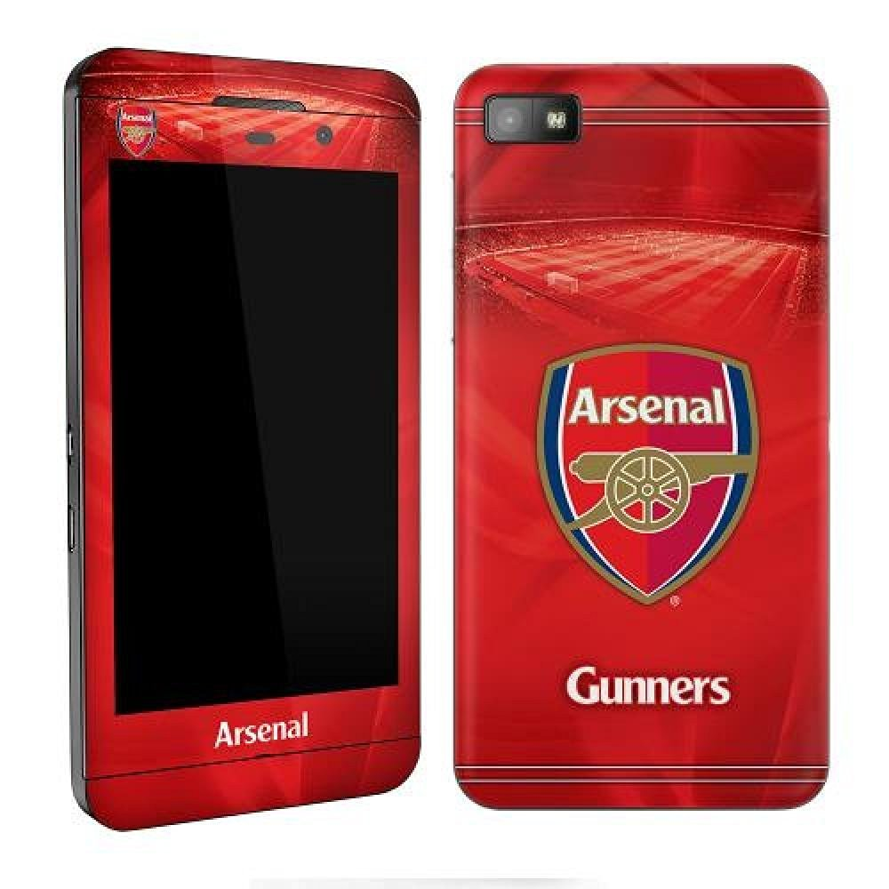 Football Gifts - Arsenal Fc Gift Ideas - Official Arsenal Fc Blackberry Z10 Skin - A Great Present For Football Fans
