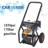 5.5HP 170bar gasoline commercial carpet cleaning equipment, car spraying equipment