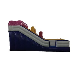 commercial funny indoor inflatable dry slide for kids