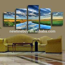 5 Panels Natur Landschaft Leinwanddruck Malerei Moderne Leinwand Wandkunst Für  Wand Dekor Und Hauptdekoration Artwork