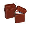 Leather Poker Case for 1 deck of playing card