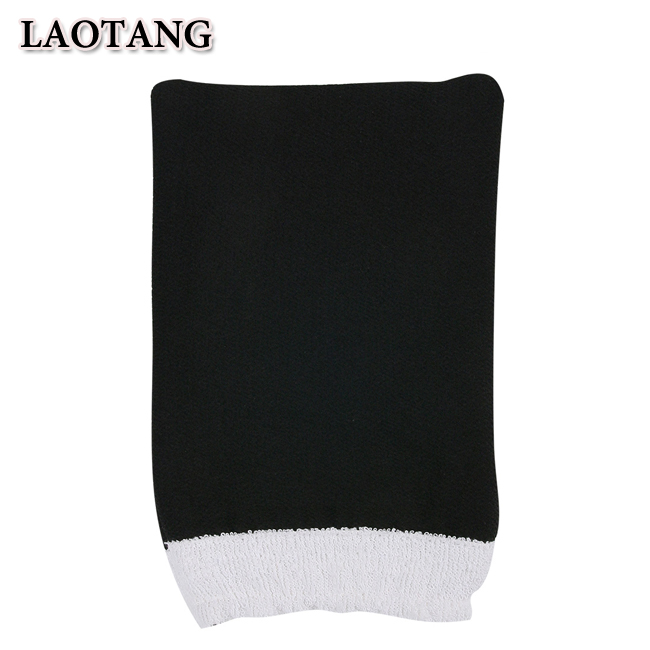 Moroccan hammam exfoliating glove to remove old skin and clean the body, Colorful art