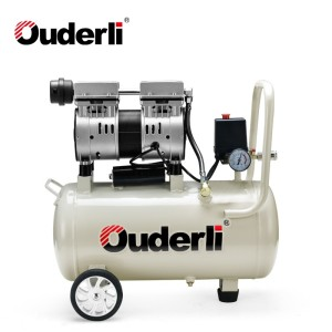 Ouderli Oil Free Oil Less Silent Quiet Air Compressor 40L/min 30L Tank OF-30L