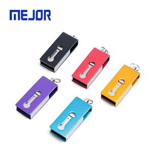 Trade assurance usb flash drive 32gb colorful usb stick for Smart phone use 16GB OEM metal OTG Pendrive