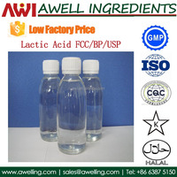 China lactic acid with low factory price