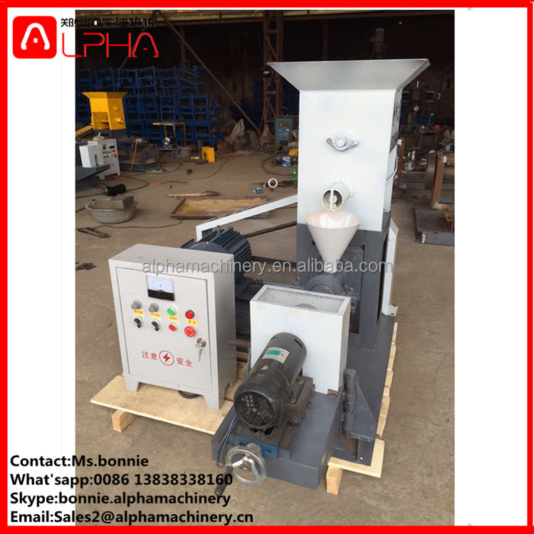 Approved floating fish feed expander fish feed pellet etruder machine/animal feed