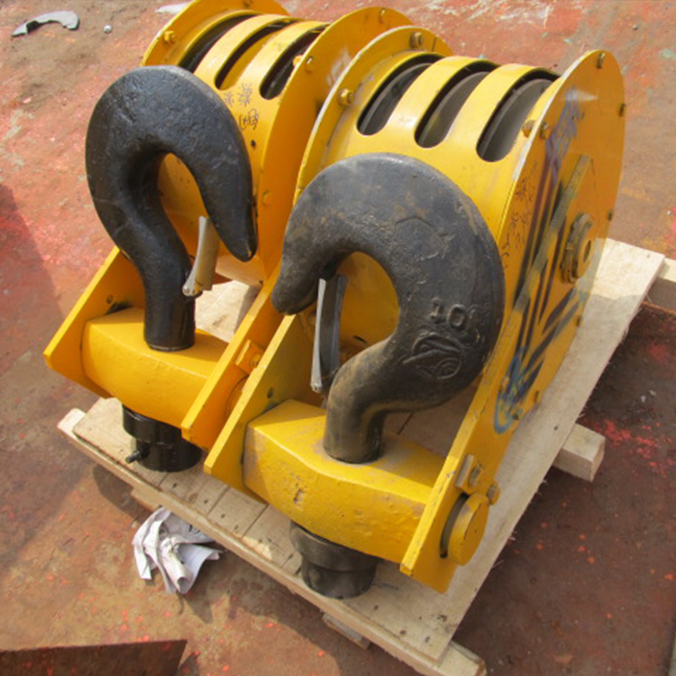 China High Precision Gantry Crane Double Lifting Crane Hook
