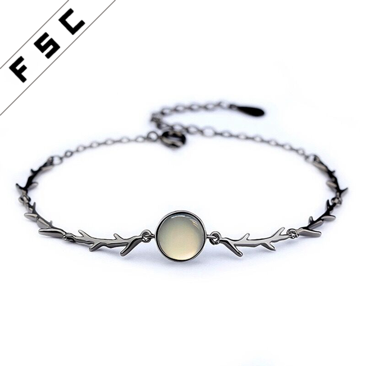 2017 newest silver plated best brand jewelry import bracelets for girls