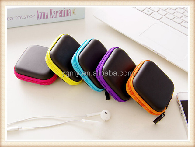 EVA Earphone Wire Storage Box Data Cable Cords Organizer
