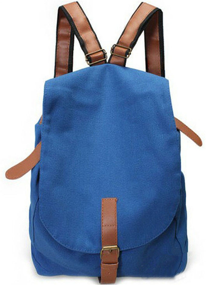 New Design High Quality Canvas Backpacks, Canvas Backpacks For Teenage Girls