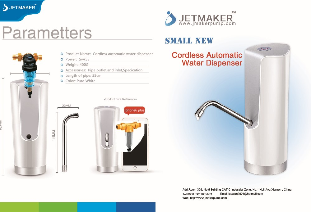 Jetmaker Manual Sparkling Water Dispenser For Water JAW-A1 by pieces