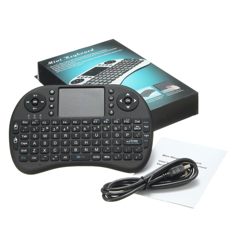 Wholesale Rii i8 Keyboard 2.4G Wireless Backlight keyboard Air Fly Mouse Remote With Touchpad Handheld For Smart TV Box фото