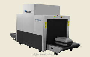 high sensitivity economical and practical x ray belongings scanner machine / x-ray luggage scanner TE-XS10080
