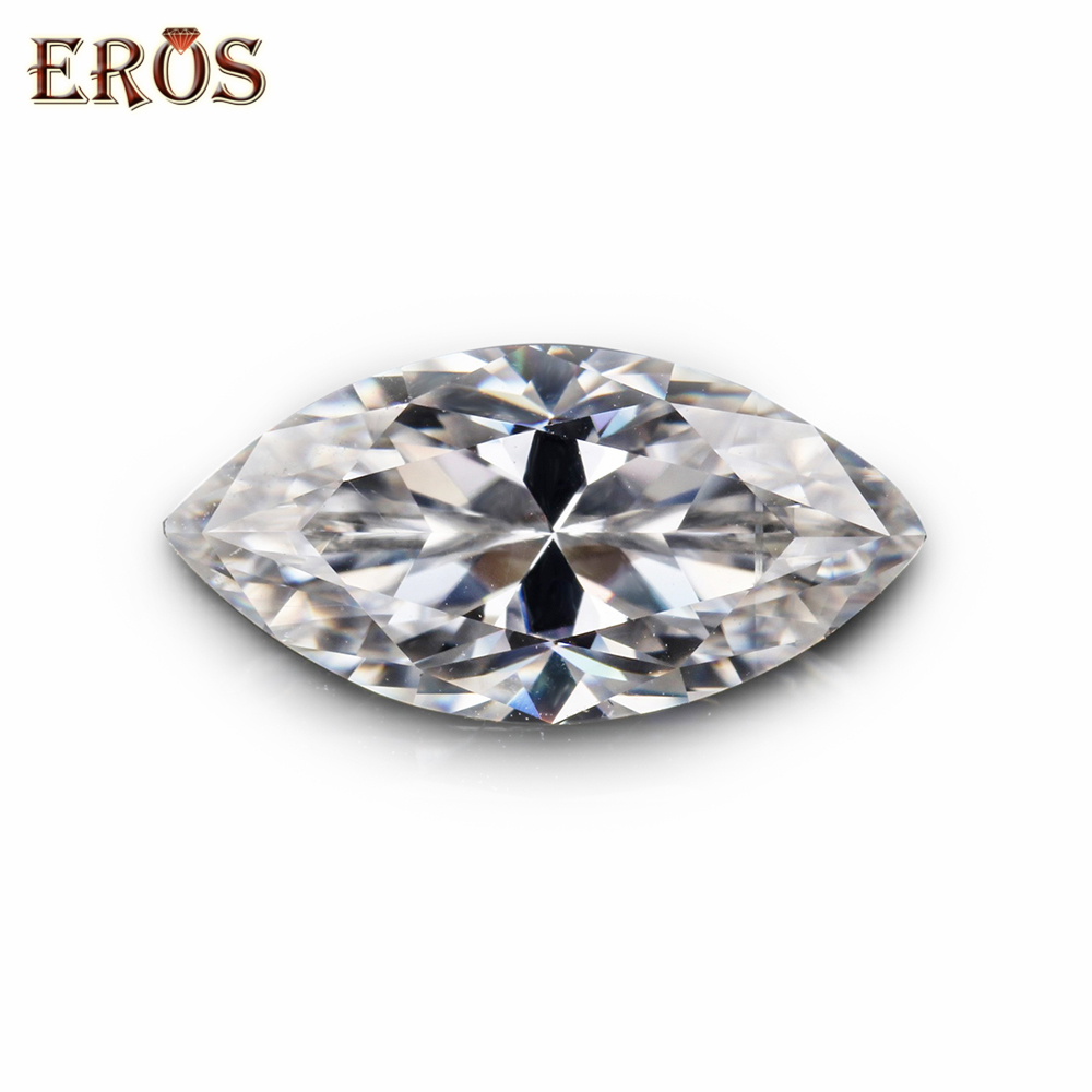 What's a moissanite <strong>diamond</strong> , It is synthetic marquise shape gemstone can pass tester moissanite for ring