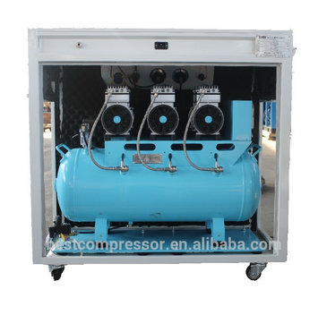 2.2kw scroll air compressor 240L m3/min oil free compressor