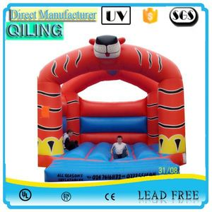 Hottest out door inflatable all american castle in stock