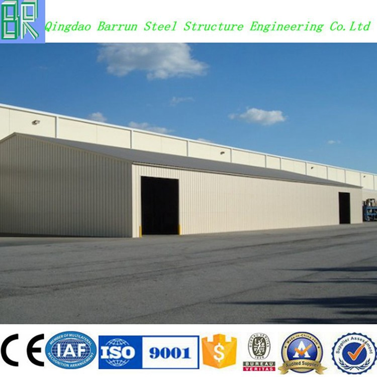 Steel structure storage shed warehouse