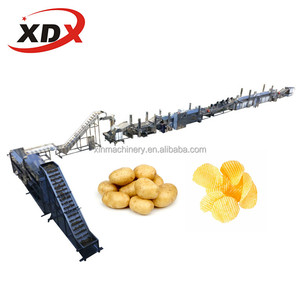 Full automatic potato chips production line chips making machine for sale